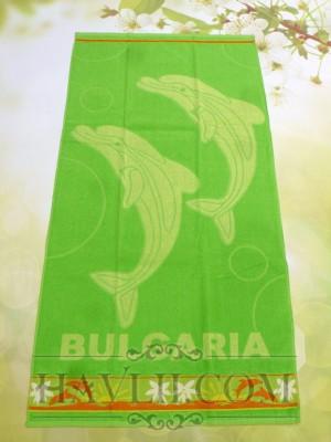 70/140 Корал - Два делфина зелен