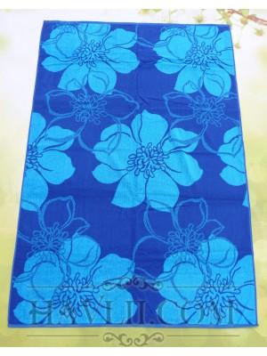 100/150 Корал - Сини цветя