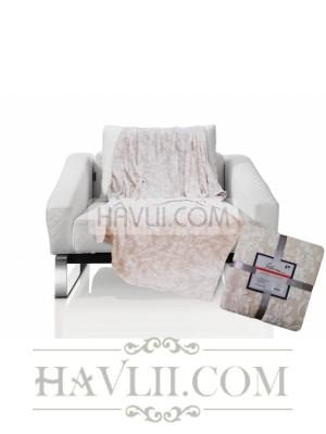 150/200 Одеяло - Флора-беж