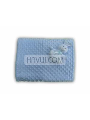 90/110 Бебешко одеяло- Син