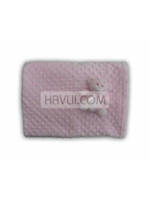 90/110 Бебешко одеяло - Розов