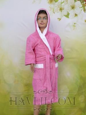 Халат Детски Ритон - Розов