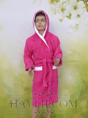 Халат Детски Ритон - Циклама