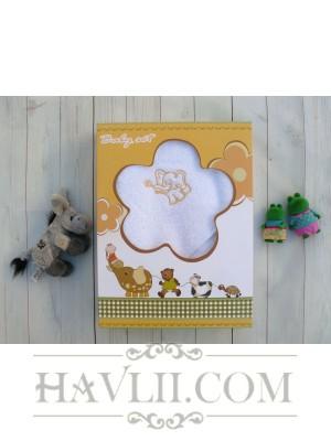 Комплект Бебе Микропамук - Бял