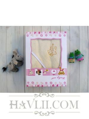 Комплект Бебе Микропамук - Ванилия