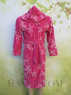 Халат Корал - Цикламени цветчета