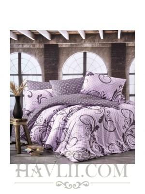 Спален комплект с два плика - Диана лилав